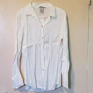 H&M Silk-Like Shirt